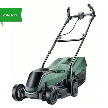Beste accu maaier voor klein gazon Bosch Citymower 18-300