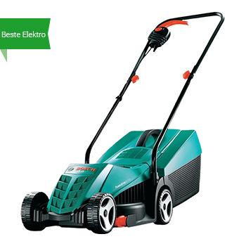 Bosch ARM 32 beste elektrische grasmaaier klein gazon