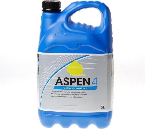 aspen4 benzine voor grasmaaier