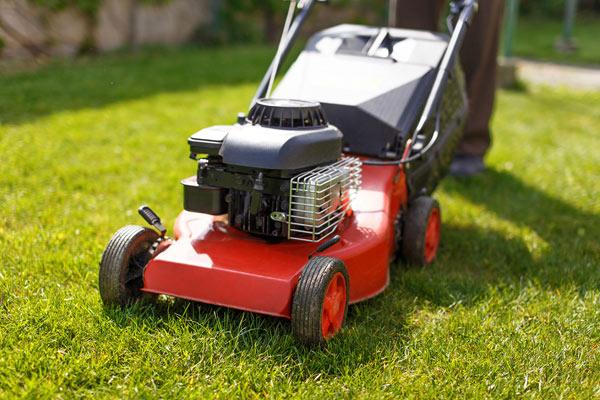 benzine voor grasmaaier