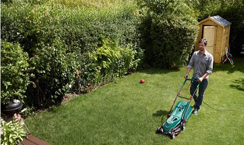 elektrische grasmaaier onderhouden