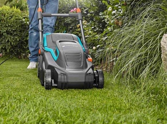 elektrische grasmaaier start niet