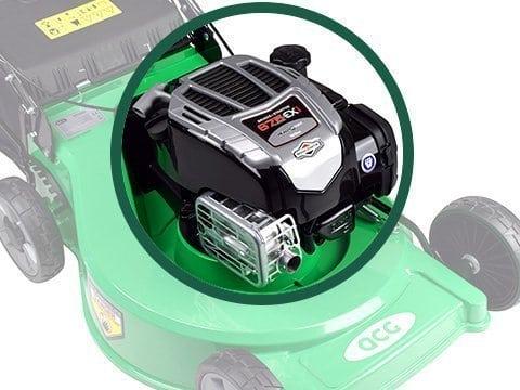 motor van grasmaaier