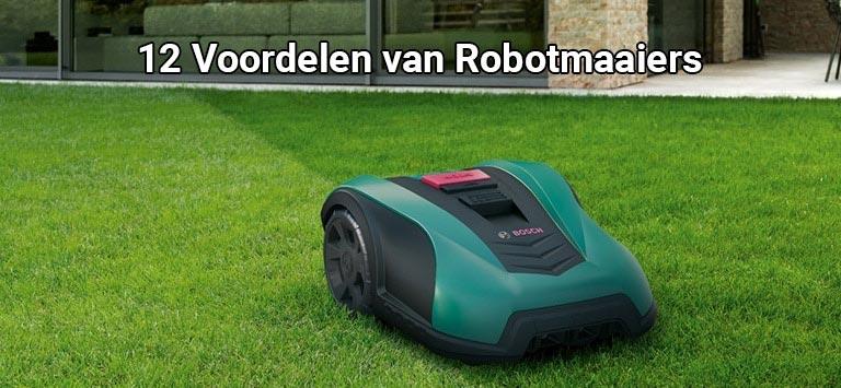 robotmaaier voordelen